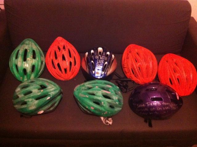 DougTrails signed helmets!